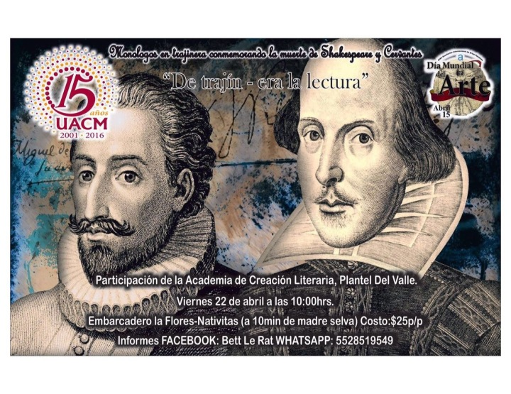 Shakespeare en Xochimilco 2016