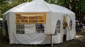 Carpa para la Sociedad de Poesía de Nueva York.